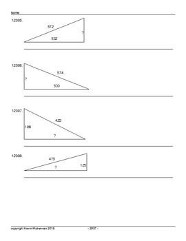15000 Pythagoras Questions Volume 2 Math Mathematics