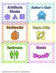 156 Chevron & Pastel Classroom Labels - Editable!