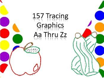 157 Tracing Graphics Aa Thru Zz