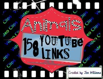 158 Animal YouTube Video Links (clips, full episode, & songs)