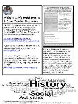 15th Amendment Document Analysis Activity Homework