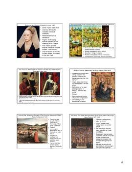 15th Century Northern European Art (Flemish) Notes