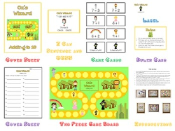 16 Adding & Subtracting Math Folder Games - Fun Centers - Common Core Aligned!