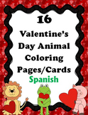 16 Valentine's Day Animal Coloring Pages - SPANISH