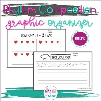 16 Beat Composition Graphic Organizer