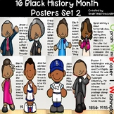 16 Black History Month Posters Set 2