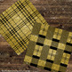 16 Black and Gold Glitter Tartan Plaid Gingham Check Digital Papers