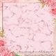 16 Bubblegum Blush Pink Glitter Marble Texture Digital Paper