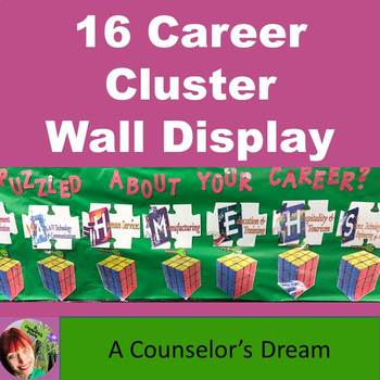 16 Career Cluster Wall Display