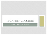 16 Career Clusters Bundle
