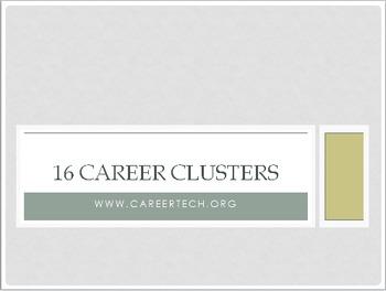 16 Career Clusters Bundle