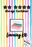 16 Case Activity Kit (K-2) by Hello Mrs Redfern