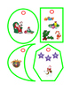 16 Christmas Ornaments Shapes Cut Out and Hang Art and Crafts Fun Stuff Print 4p