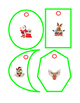 16 Christmas Ornaments Shapes Cut Out and Hang Art and Cra