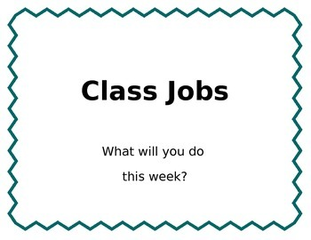 EDITABLE Class Jobs with Realistic Names