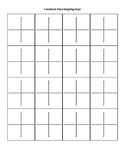 16 Coordinate Planes Graph Paper