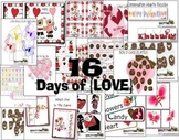 VALENTINE CENTERS {16 Math and Literacy Centers}