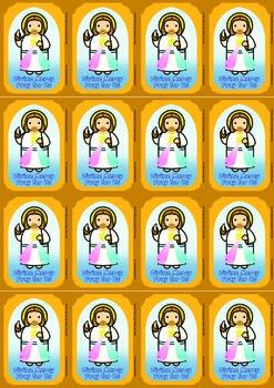 16 Divine Mercy Flash Cards - Catholic