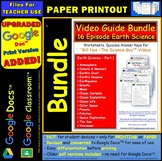A Differentiated Worksheet Bundle Quiz Ans for Bill Nye Earth Science Part 1 *