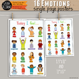 16 Emotions Poster