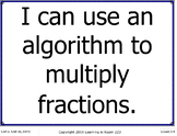 16 Fifth Grade Everyday Mathematics I Can Statement Poster