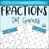 Fraction Math Centers: Dot Games
