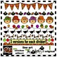 16 Fun Fall Page Dividers! Scarecrows, Football, Caramel Apples and More!