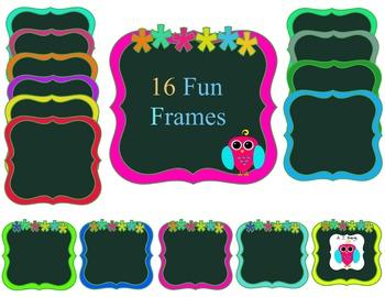 Free 16 Fun Frames