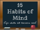 16 Habits of Mind Printable