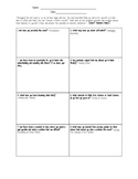 16 Habits of Mind Reflection Graphic Organizer