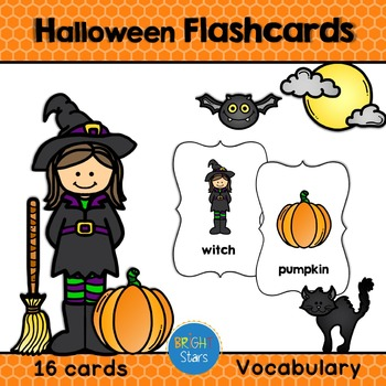 16 Halloween Flashcards