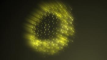16 Hexagonal Light Backgrounds (Yellow)