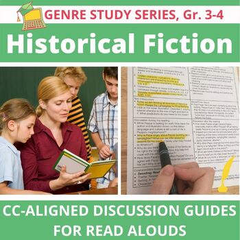 16 Historical Fiction Read Alouds--Versatile and Common Core Aligned, Gr. 3-4