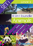 16-IN-1 BUNDLE- Animals (Set 1) - Grade 3