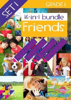 16-IN-1 BUNDLE - Friends (Set 1) - Grade 1