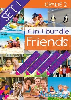 16-IN-1 BUNDLE- Friends (Set 1) - Grade 2