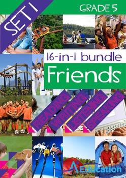 16-IN-1 BUNDLE- Friends (Set 1) - Grade 5