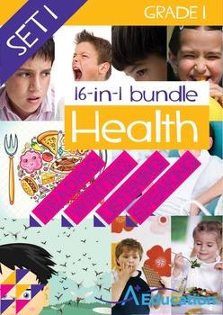 16-IN-1 BUNDLE - Health (Set 1) - Grade 1