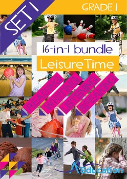 16-IN-1 BUNDLE - Leisure Time (Set 1) - Grade 1
