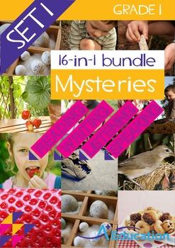 16-IN-1 BUNDLE- Mysteries (Set 1) – Grade 1