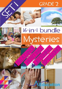 16-IN-1 BUNDLE- Mysteries (Set 1) – Grade 2