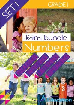 16-IN-1 BUNDLE- Numbers (Set 1) – Grade 1