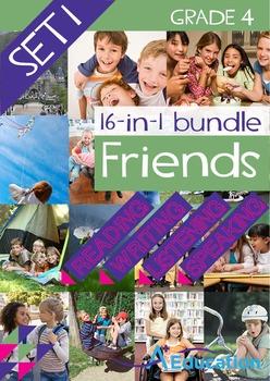 16-IN-1 BUNDLE- Friends (Set 1) - Grade 4