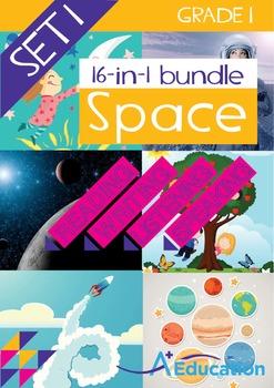 16-IN-1 BUNDLE - Space (Set 1) - Grade 1