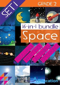16-IN-1 BUNDLE - Space (Set 1) - Grade 2