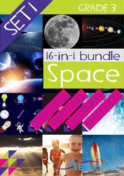 16-IN-1 BUNDLE - Space (Set 1) - Grade 3