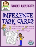 16 Inference Task Cards! Great Center! Common Core Aligned