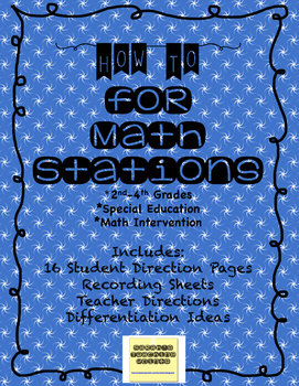 16 Intermediate Math Stations/ Centers for Growth Mindset