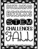 16 Building Blocks STEM / STEAM Fall Challenges
