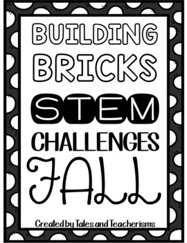 16 LEGO STEM/STEAM Fall Challenges